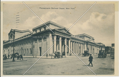 Pennsylvania Railroad Depot, New York City