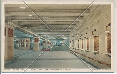 Suburban Concourse, Grand Central Terminal, NYC