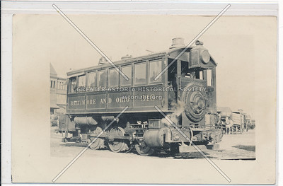 B&O Locomotive 316, 26 St & 12 Av, NYC (12/25/13)
