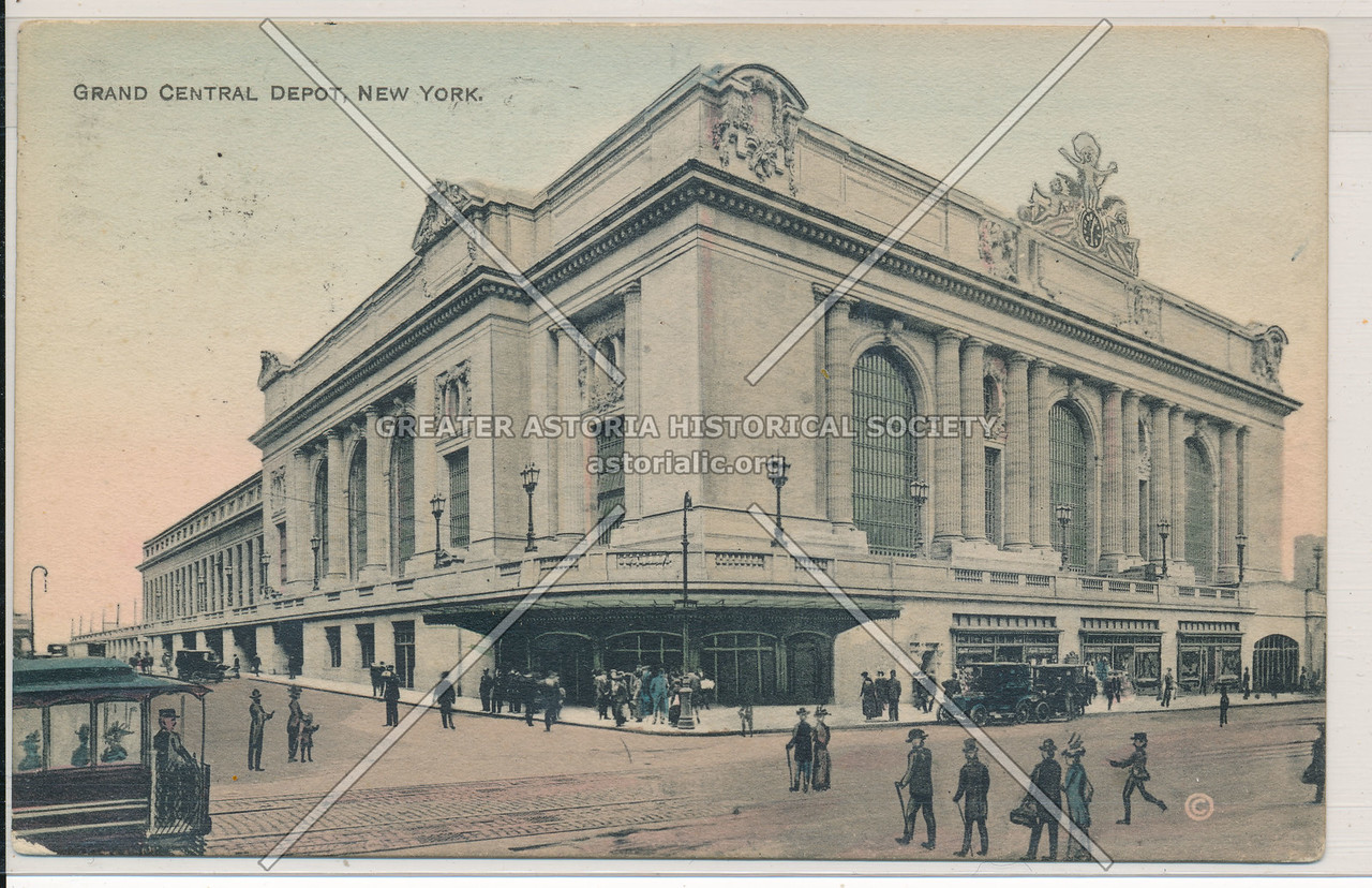 Grand Central Depot, New York City