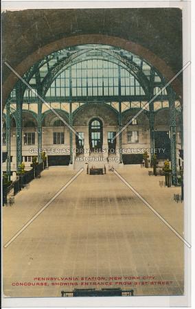 Concourse of Pennsylvania Station, New York City