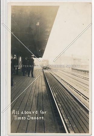 Midtown Elevated Platform, NYC