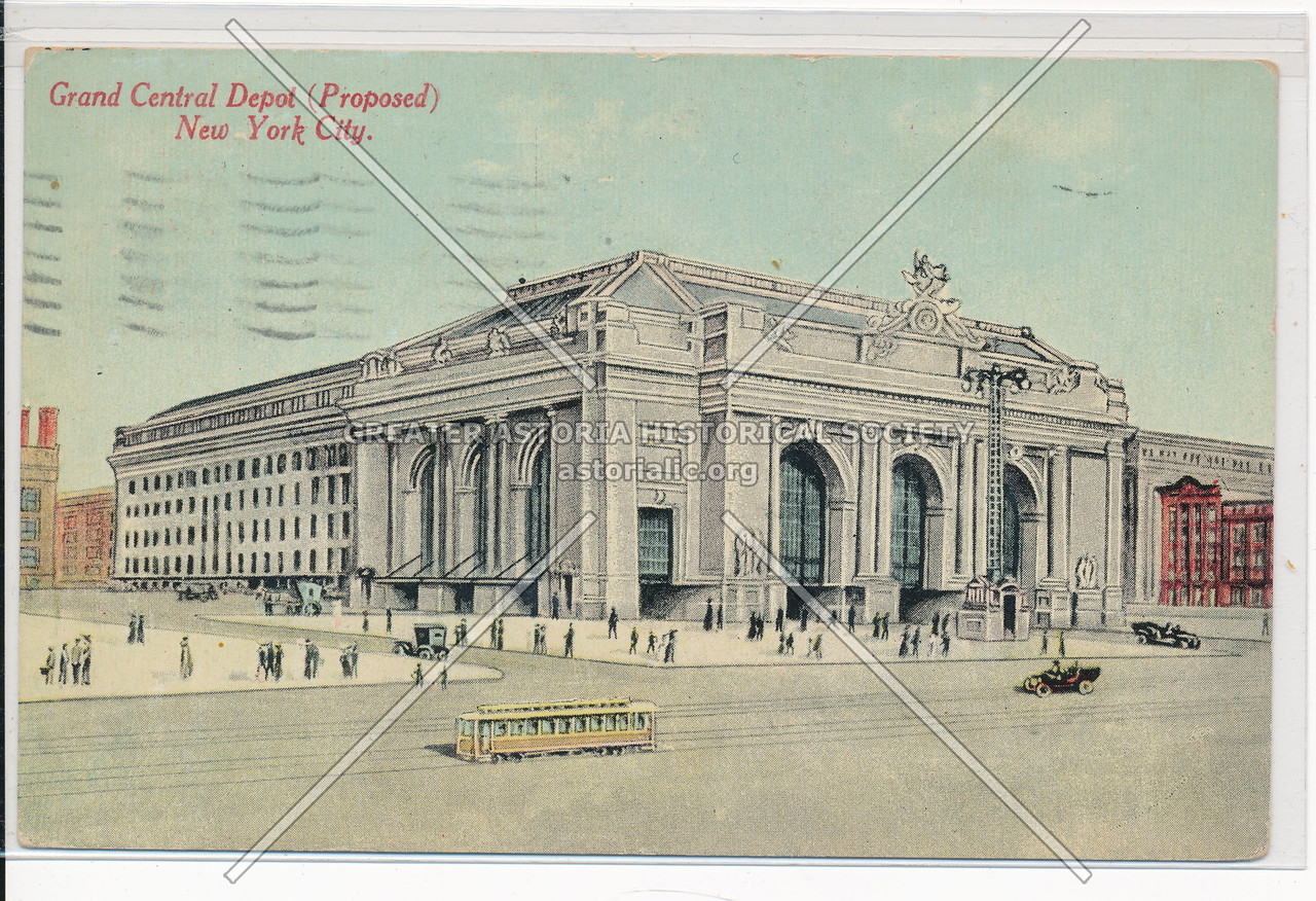 Proposed Grand Central Depot, New York City