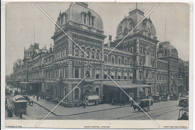 Original Grand Central Station at 42nd Street, New York City