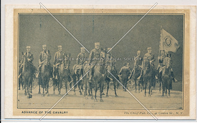 Advance of the Cavalry, NYC