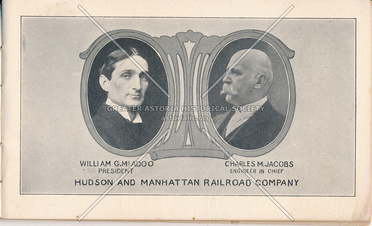 Leaders of the Hudson and Manhattan Railroad Company