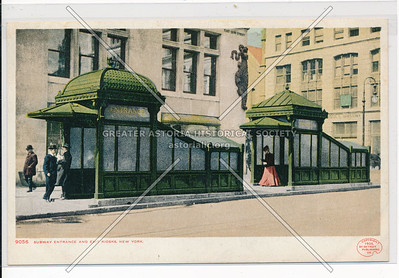 Subway Entrance and Exit Kiosks, NYC