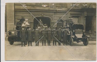 Group Photo of Engine 24 Crew, New York City Fire Brigade