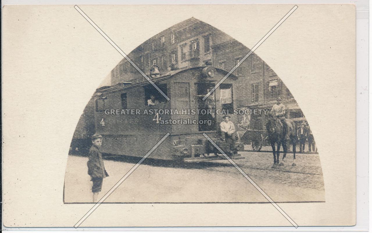 10th Ave Train & Cowboy, NYC