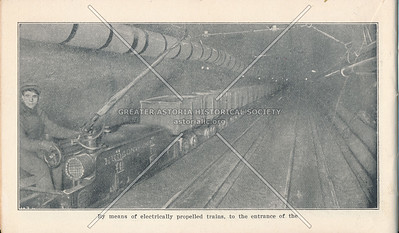 McAdoo System Electrically Propelled Supply Train