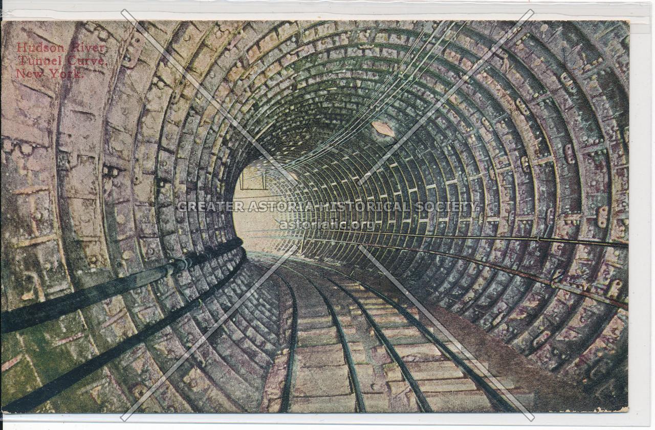 Hudson River Tunnel Curve, New York City