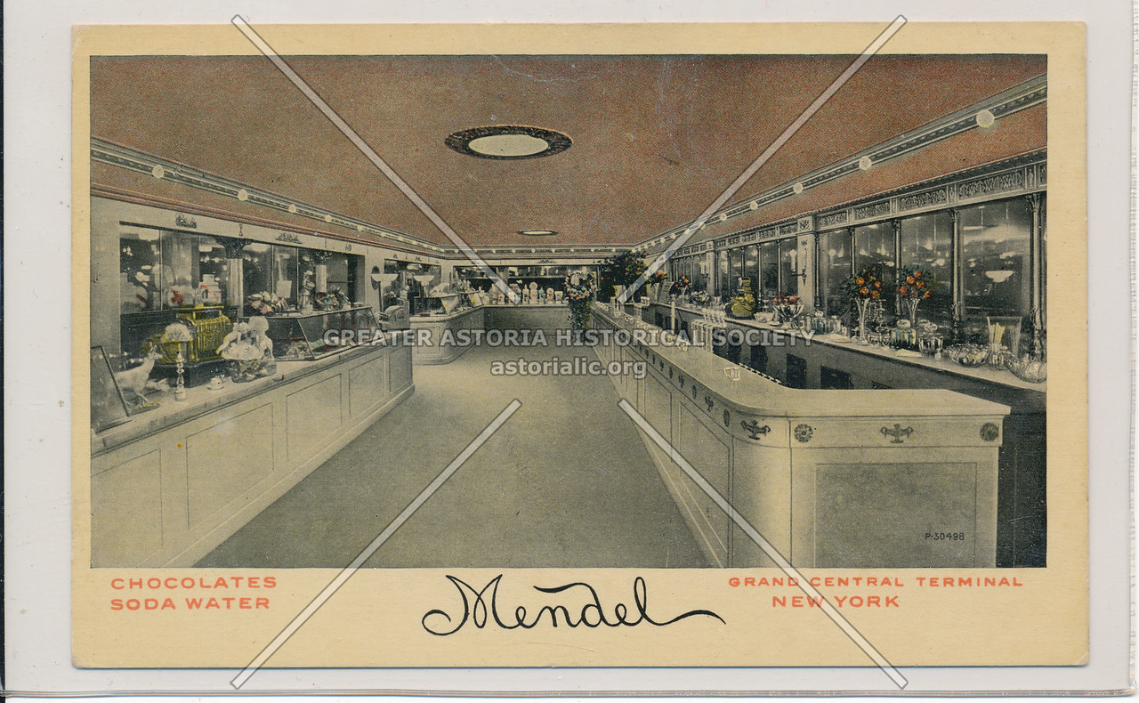 Chocolates and Soda Water Shoppe (Mendel) at Grand Central Terminal, NYC
