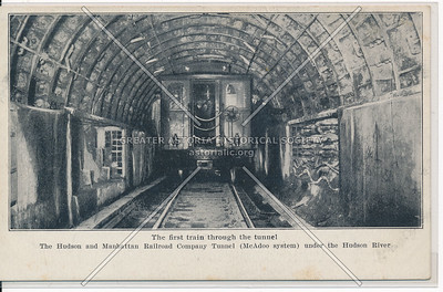 The First Train Through the Tunnel