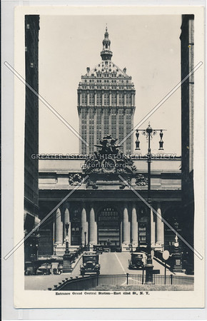Entrance to Grand Central Station, East 42nd Street, NYC