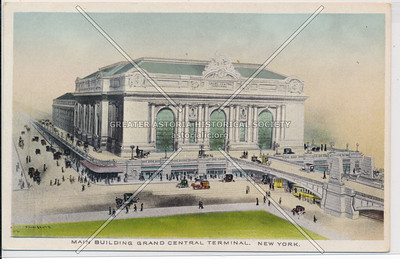 Main Building of Grand Central Terminal, NYC