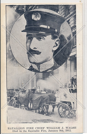 Battalion Fire Chief William J. Walsh