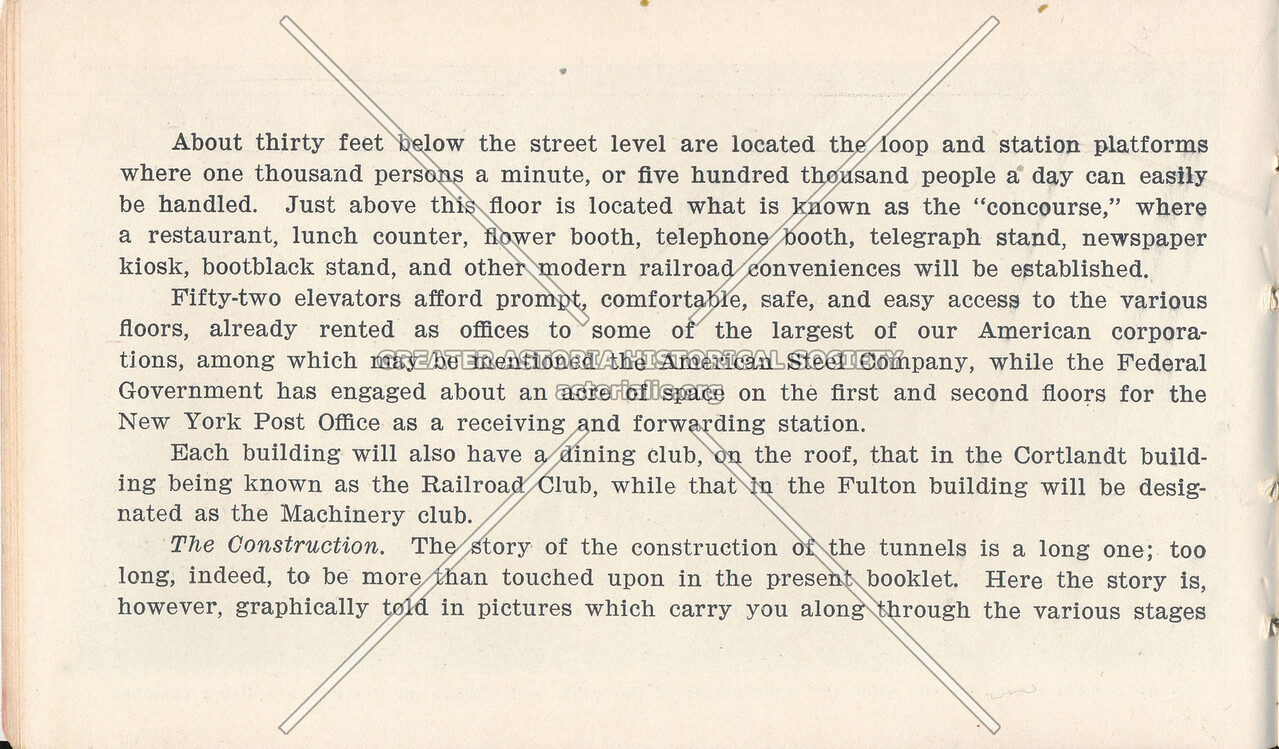 McAdoo System Pamphlet and Terminal Buildings Description