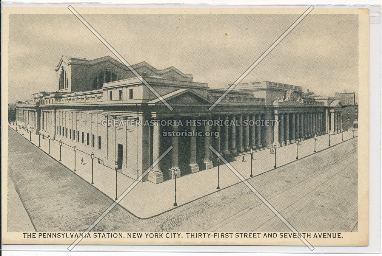 The Pennsylvania Station, 31st Street and 7th Avenue, NYC