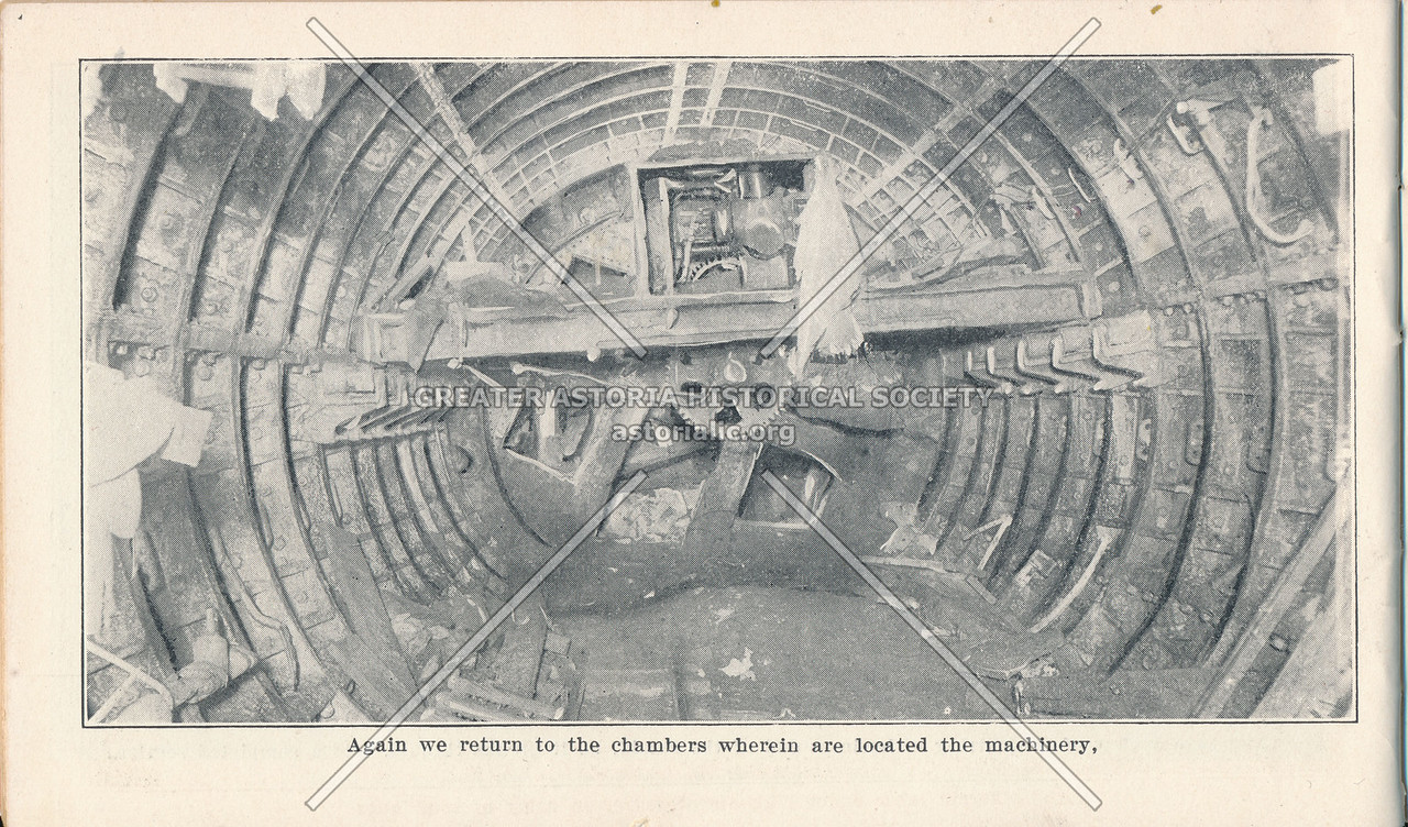 Chambers with Machinery in Shield Used in Construction