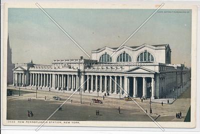 The Pennsylvania Station, New York City