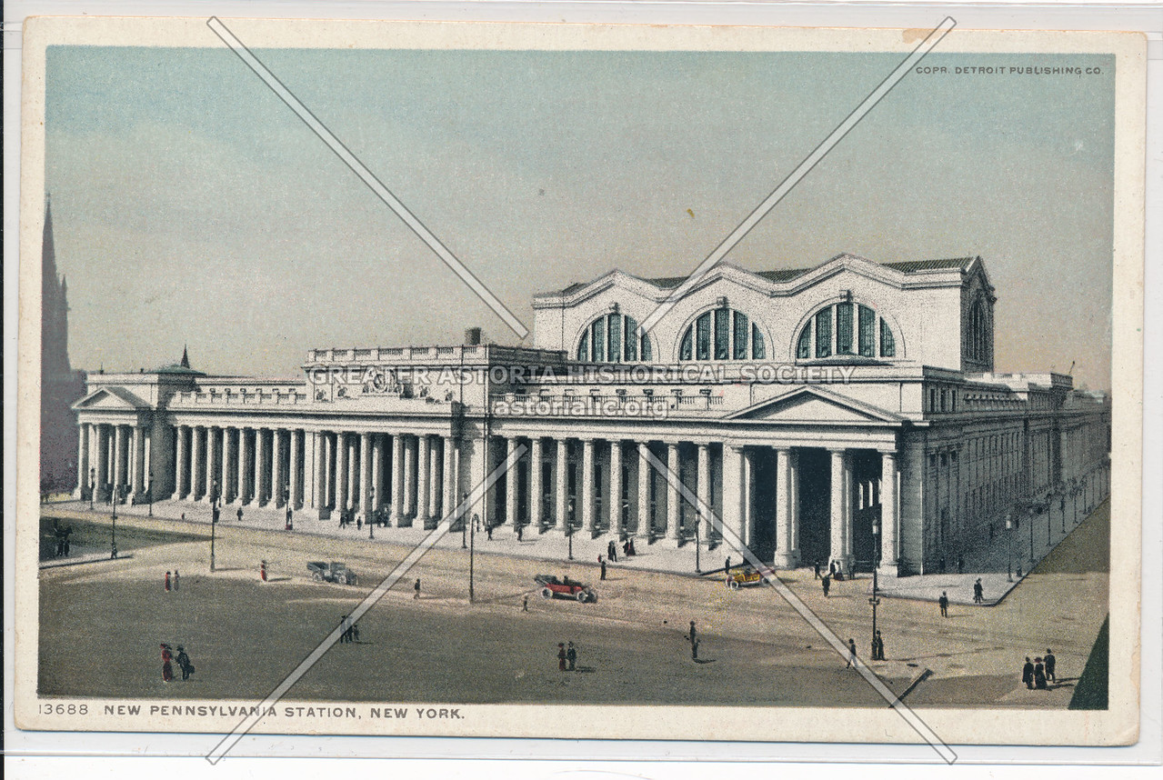 The Pennsylvania Station, New York City