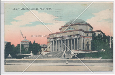 Columbia College Library, New York