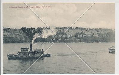 Hudson River and Palisades, New York
