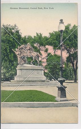 Sherman Monument, Central Park, New York