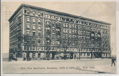 River View Apartments, Broadway, 148th & 149th Strs., New York