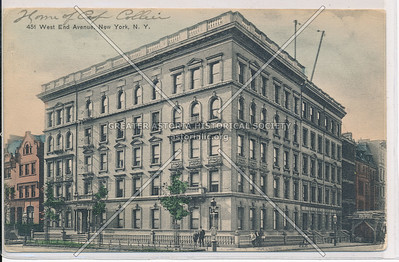 451 West End Avenue, New York, N.Y.