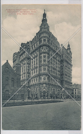 Ansonia Apartment Hotel, Broadway Between 73rd & 74th Sts. New York