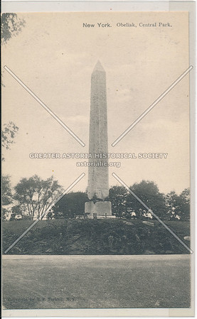 New York. The Obelisk, Central Park