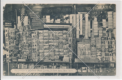 Hegeman Artistic Post Cards, 21 Park Row, New York
