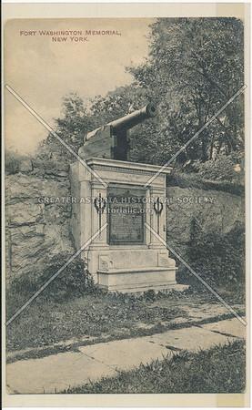 Fort Washington Memorial, New York