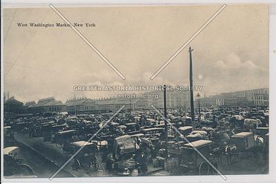 West Washington Market, New York. (black & white)