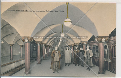 Hoboken Station, Hudson & Manhattan Subway, New York