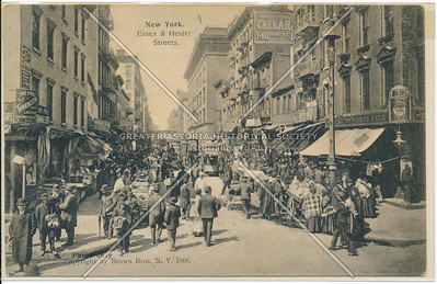 New York. Essex & Hester Streets (photo only)