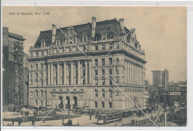 Hall of Records, New York (black & white)