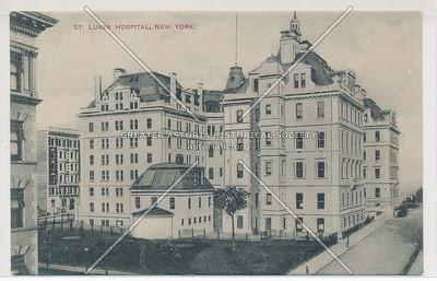 St. Luke's Hospital, New York (B&W)