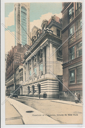 Chambers of Commerce, Liberty Street, New York