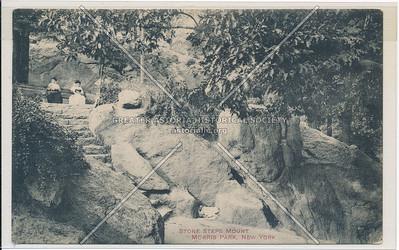 Stone steps, Mount Morris Park, New York