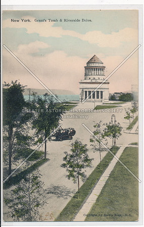 Grant's Tomb and Riverside Drive, NY