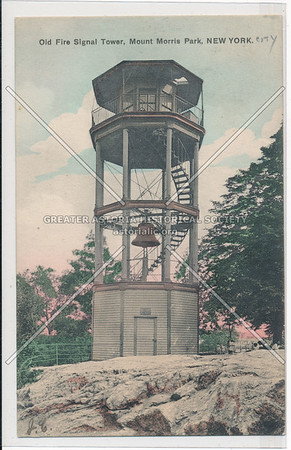 Mount Morris Park Fire Tower, NY