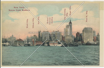 New York, Scene from Hudson
