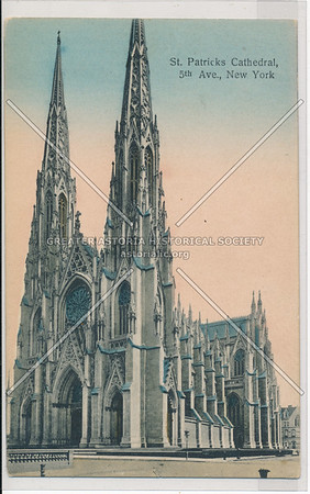 St. Patrick's Cathedral, 5th Ave., New York