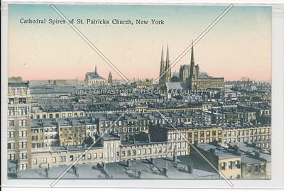 Catheral Spires of St. Patricks Church, New York