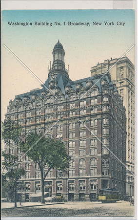Washington Building No. 1 Broadway, New York City