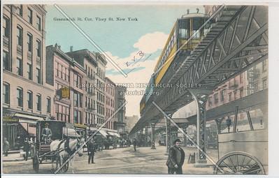 Greenwich St. Cor. Visey St. New York