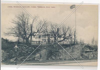 Jumel Mansion at 160th St., NY (B&W)