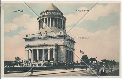 New York. Grant's Tomb